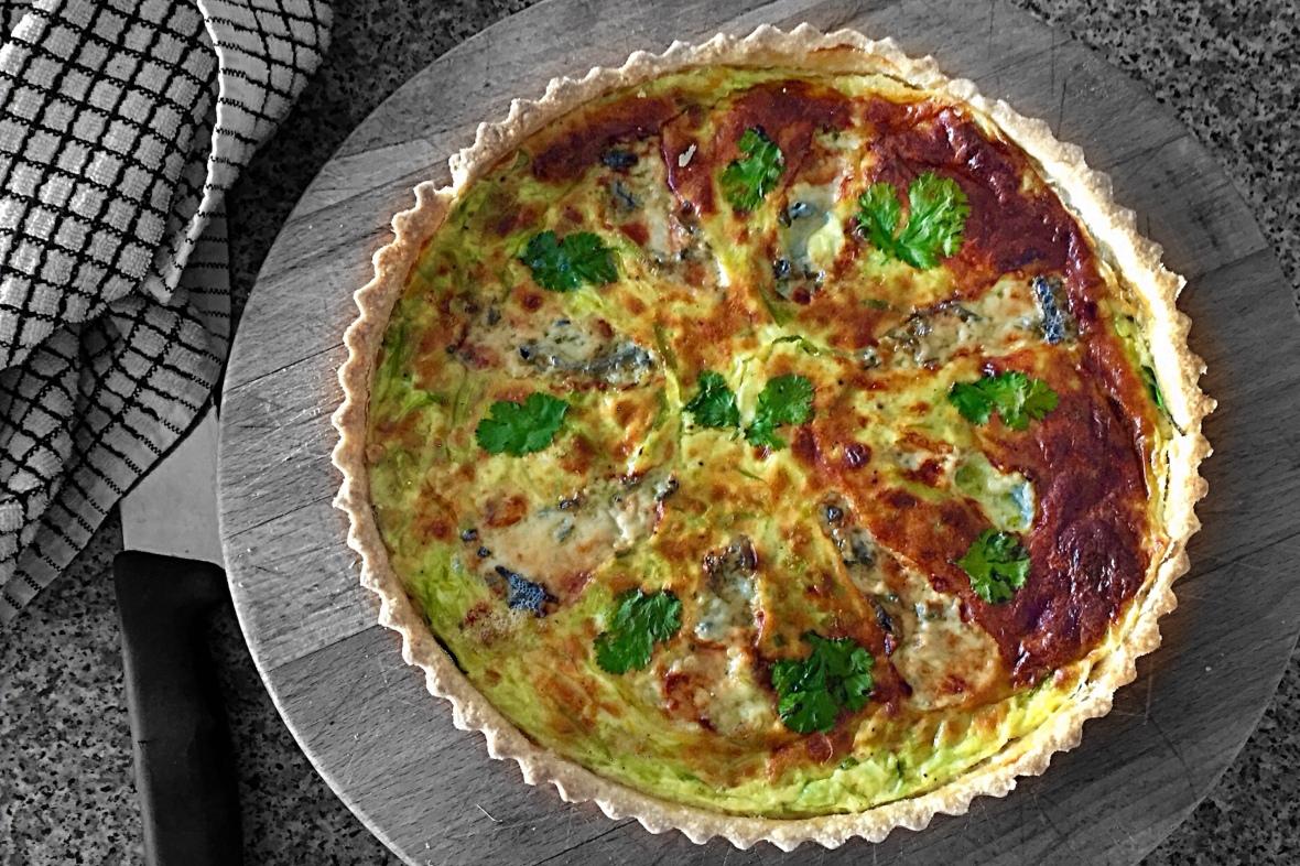 leek-and-blue-cheese-tart